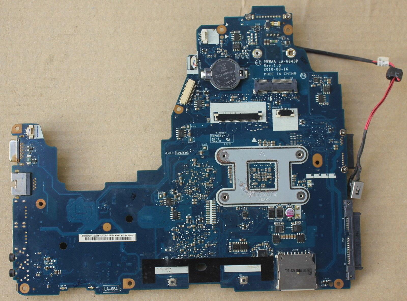 Motherboard Toshiba Satellite C660 C660D K000111550 PWWAA LA